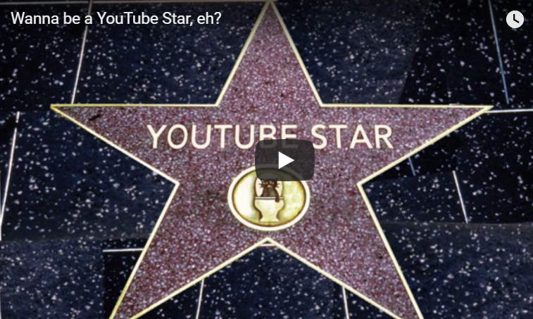 Wanna be a YouTube Star, eh? ⭐