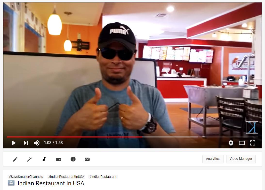 Indian Restaurant In USA