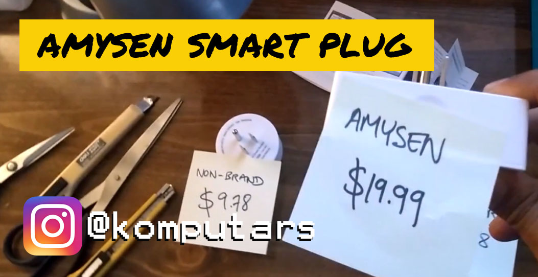 Amysen Smart Plug 'The Better Option'