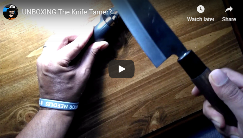 UNBOXING The Knife Tamer?