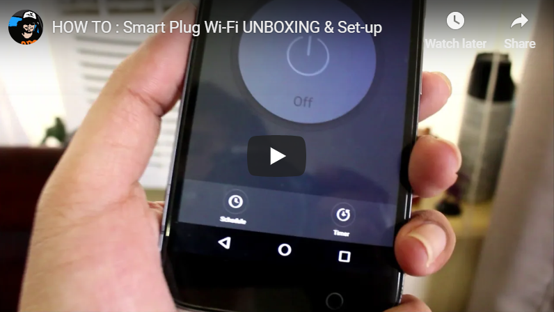 HOW TO : Smart Plug Wi-Fi UNBOXING & Set-up